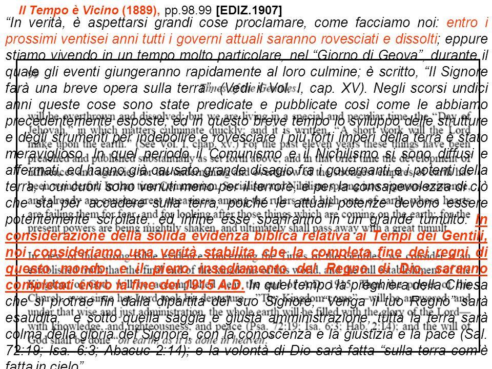 Il Tempo è Vicino (1889), pp.98.99 [EDIZ.1907]
